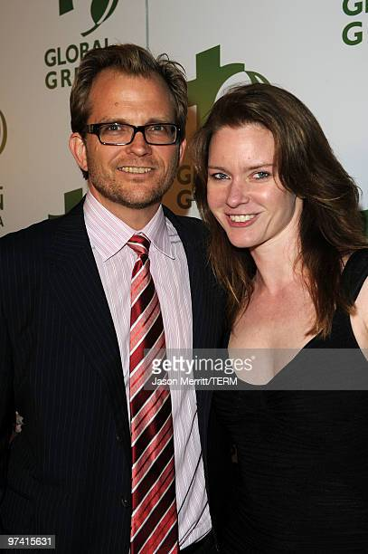 Of Global Green USA Matt Petersen and Justine Musk arrive at Global Green USA's 7th Annual Pre-Oscar Party at Avalon on March 3, 2010 in Hollywood,...