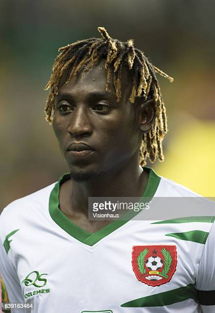 LOPES of Guinea Bissau during the Group A match between Cameroon and Guinea Bissau at Stade de L'Amitie on January 18 2017 in Libreville Gabon