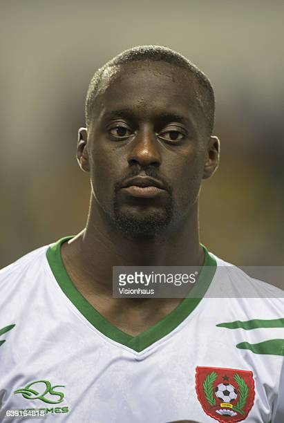 SOARES of Guinea Bissau during the Group A match between Cameroon and Guinea Bissau at Stade de L'Amitie on January 18 2017 in Libreville Gabon