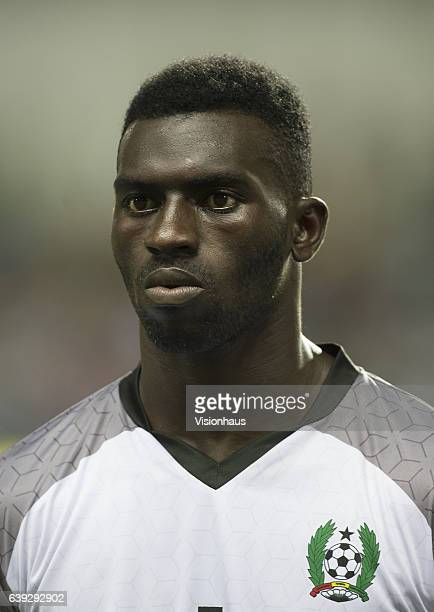 MENDES of Guinea Bissau during the Group A match between Cameroon and Guinea Bissau at Stade de L'Amitie on January 18 2017 in Libreville Gabon