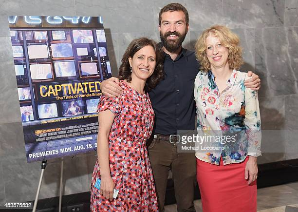 SVP of HBO Documentary Films Lisa Heller and filmmakers Jeremiah Zagar and Lori Cheatle attend a special screening of the HBO Documentary Film...