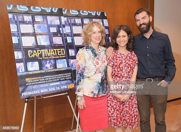 SVP of HBO Documentary Films Lisa Heller and filmmakers Lori Cheatle and Jeremiah Zagar attend a special screening of the HBO Documentary Film...