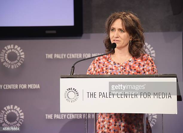 SVP of HBO Documentary Films Lisa Heller introduces a special screening of the HBO Documentary Film Captivated The Trials Of Pamela Smart at the...