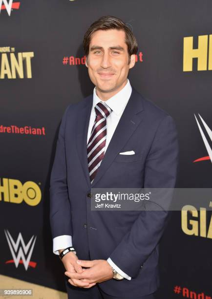 EVP of HBO Sports Peter Nelson attends the Los Angeles Premiere of Andre The Giant from HBO Documentaries on March 29 2018 in Los Angeles California