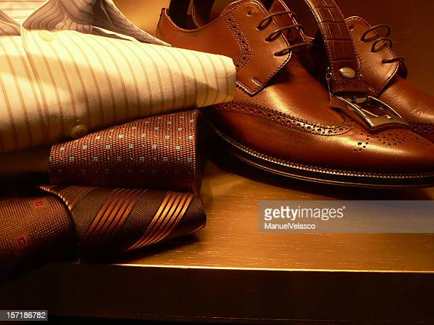 of him 2 - brown shoe stock photos and pictures