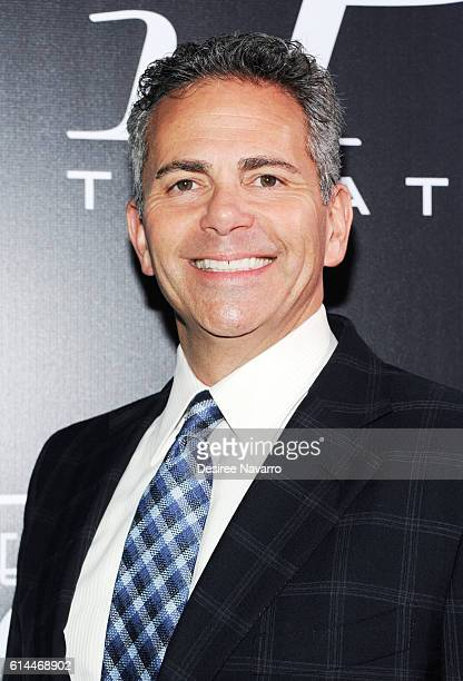 CEO of Howard Hughes Corporation David Weinreb attends 'Mascots' New York Premiere at iPic Fulton Market on October 13 2016 in New York City
