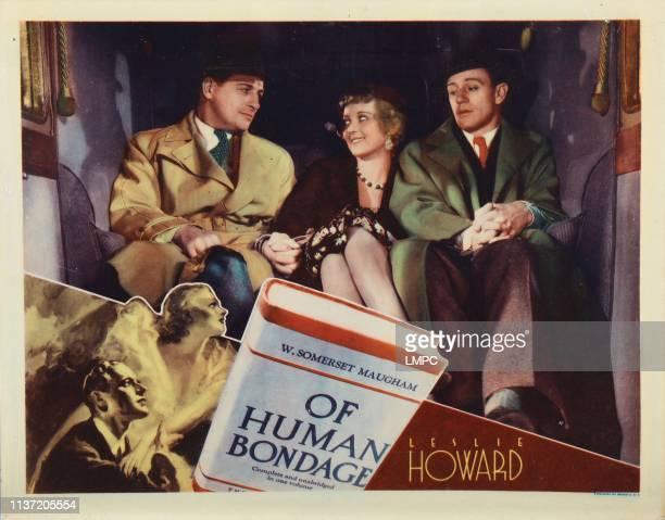Of Human Bondage lobbycard Reginald Denny Bette Davis Leslie Howard 1934