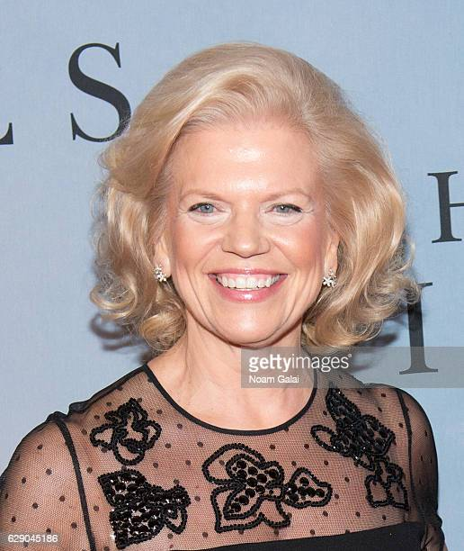 CEO of IBM Ginni Rometty attends the Hidden Figures New York special screening on December 10 2016 in New York City