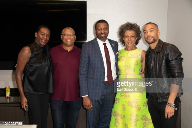 CEO of ICON MANN Tamara Houston Film Maker Reginald Hudlin President and CEO of NAACP Derrick Johnson Dean USC Debra Langford and actor Kendrick...