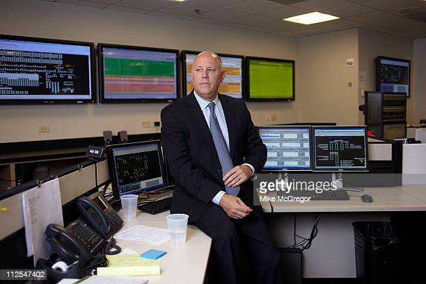 CEO of Intercontinental Exchange Jeffrey Sprecher is photographed for Bloomberg Businessweek on July 5 2010 in New York City