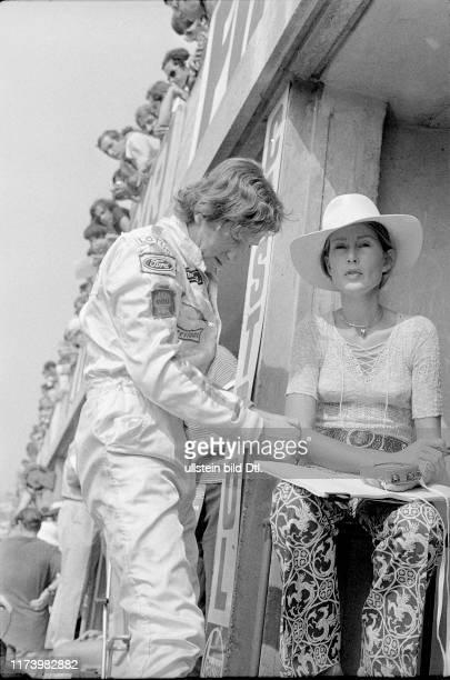 Jochen and Nina Rindt