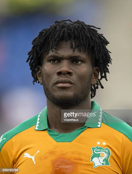 KESSIE of Ivory Coast during the Group C match between Ivory Coast and DR Congo at Stade Oyem on January 20 2017 in Oyem Gabon