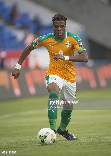 ZAHA of Ivory Coast during the Group C match between Ivory Coast and DR Congo at Stade Oyem on January 20 2017 in Oyem Gabon