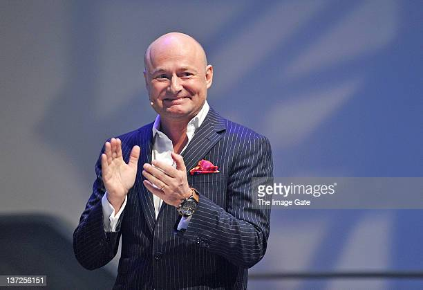 Of IWC Schaffhausen Georges Kern attends the IWC Schaffhausen Top Gun Gala Event during the 22nd SIHH High Jewellery Fair at the Palexpo Exhibition...