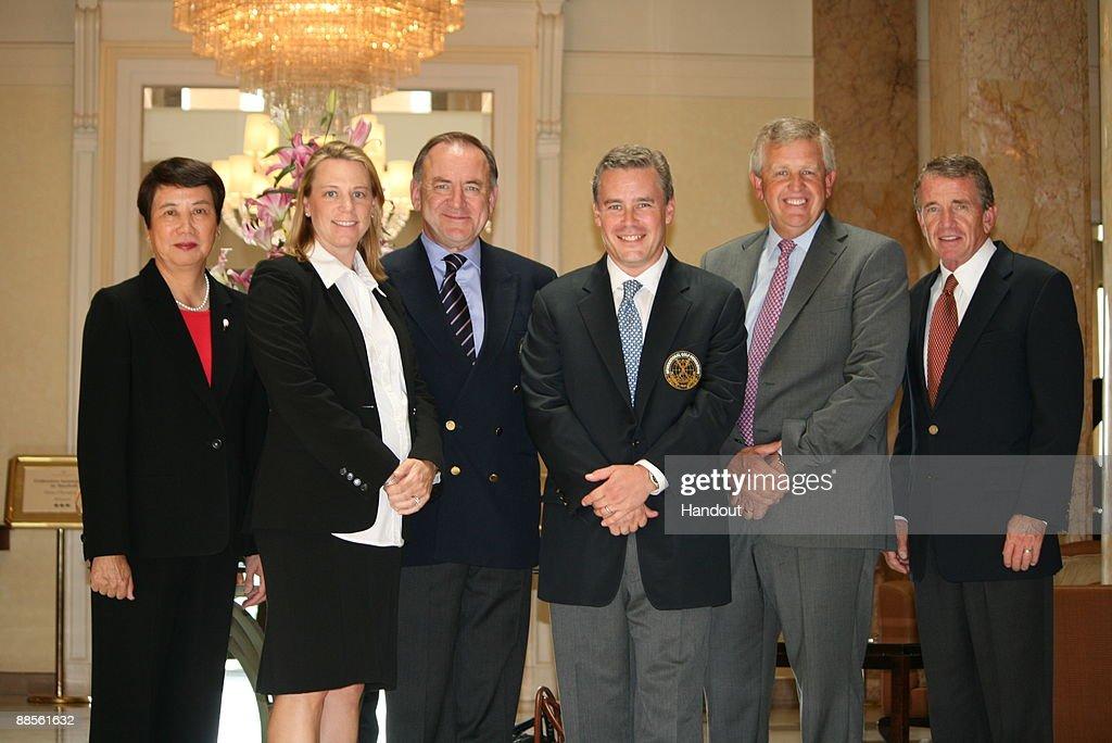 Golf Makes Olmpic Pitch to IOC : News Photo