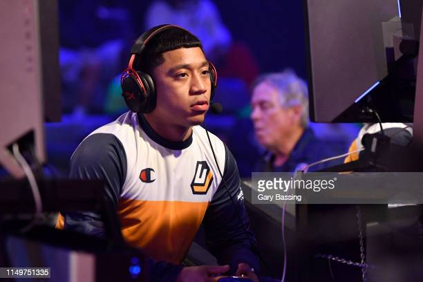 MOAM of Jazz Gaming plays against Knicks Gaming during the NBA 2K League Ticket Tournament on June 13 2019 The Fortress in Winter Park Florida NOTE...