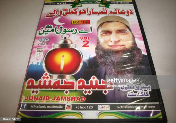 A DVD of Junaid Jamshed Pakistan's once most famous popstar in the 1980's sits on a desk in Rawalpindi Pakistan 04 December 2014 Even Mullahs are...