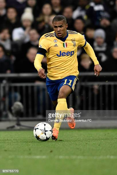 of Juventus during the UEFA Champions League Round of 16 Second Leg match between Tottenham Hotspur and Juventus at Wembley Stadium on March 7 2018...