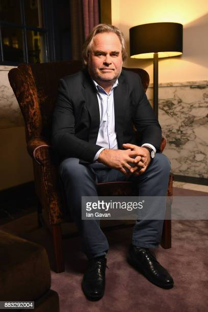 CEO of Kaspersky Lab Eugene Kaspersky poses for a portrait ahead of Christmas Dinner With Eugene Kaspersky on November 30 2017 in Amsterdam...