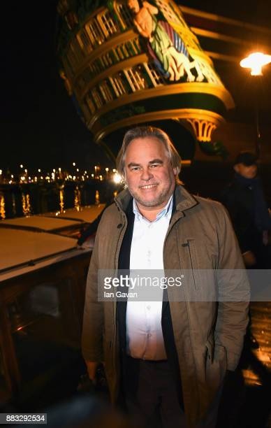 CEO of Kaspersky Lab Eugene Kaspersky poses outside The National Maritime Museum ahead of Christmas Dinner With Eugene Kaspersky on November 30 2017...