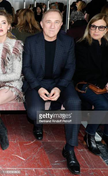 CEO of Kering Group FrancoisHenri Pinault attends the Giambattista Valli show as part of the Paris Fashion Week Womenswear Fall/Winter 2019/2020 on...
