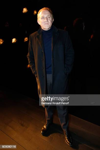 CEO of Kering Group FrancoisHenri Pinault attends the Saint Laurent show as part of the Paris Fashion Week Womenswear Fall/Winter 2018/2019 on...