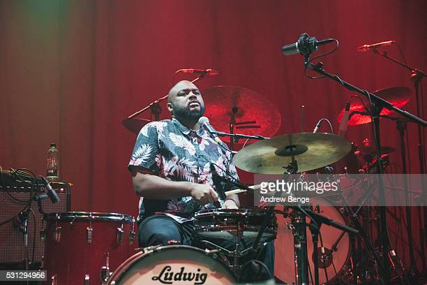 DJ of Khruangbin performs on stage at O2 Academy Leeds on May 11 2016 in Leeds England