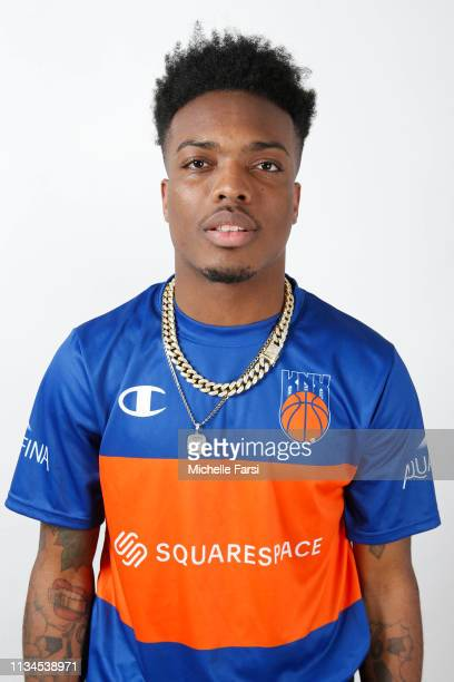 IDRISDAGOAT6 of Knicks Gaming poses for a head shot during the NBA 2K League media day on April 2 2019 at the NBA 2K Studio in Long Island City New...