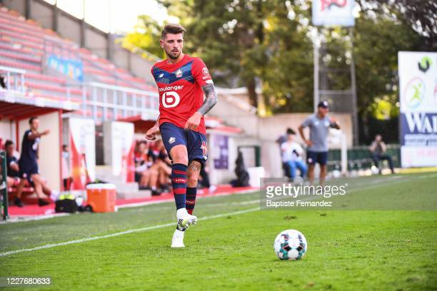 XEKA of Lille during the preseason soccer friendly match between Lille and Mouscron on July 18 2020 in Mouscron Belgium