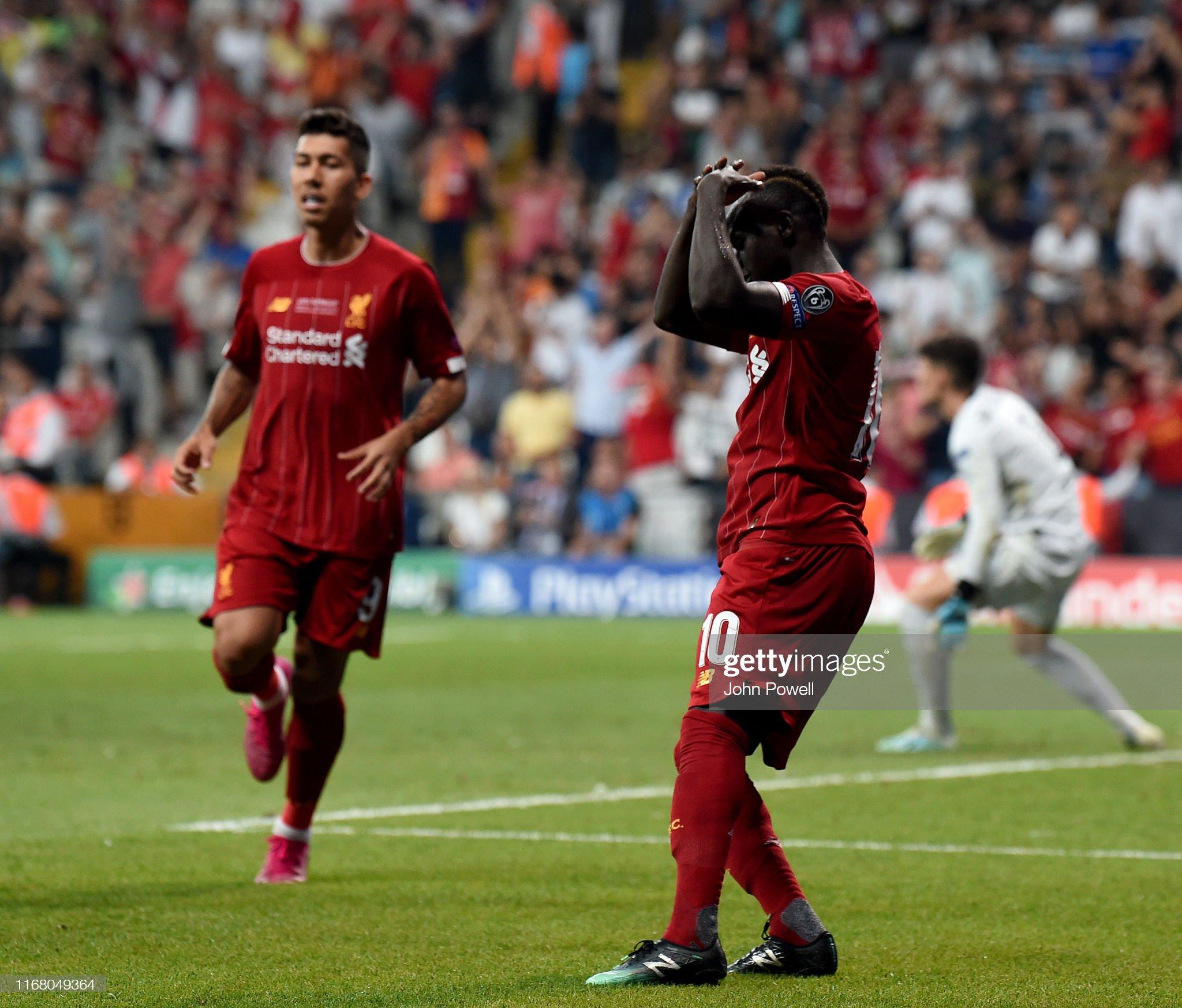 Liverpool v Chelsea: UEFA Super Cup : Photo d'actualité