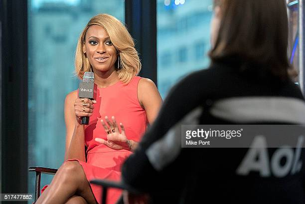 CEO of LMB Group Lauren Maillian attends the AOL Build Speaker Series to discuss Quit Your Day Job at AOL Studios In New York on March 25 2016 in New...