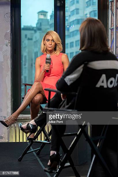 "Of LMB Group Lauren Maillian attends the AOL Build Speaker Series to discuss ""Quit Your Day Job"" at AOL Studios In New York on March 25, 2016 in New..."