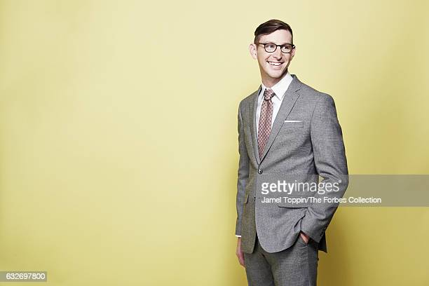 CEO of Lonely Planet Daniel Houghton is photographed for Forbes Magazine on December 7 2016 in New York City PUBLISHED IMAGE CREDIT MUST READ Jamel...