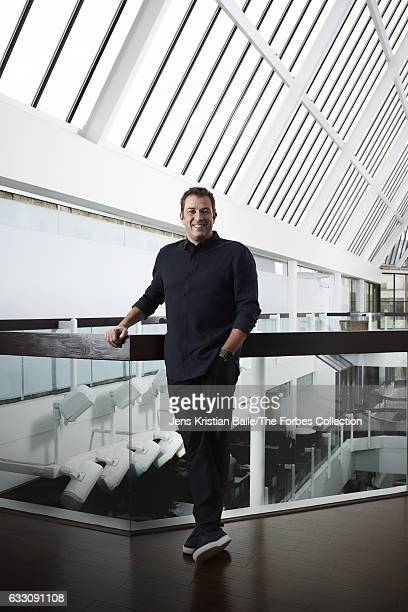 CEO of Lululemon Athletica Laurent Potdevin is photographed for Forbes Magazine on September 27 2016 in Vancouver Canada PUBLISHED IMAGE CREDIT MUST...