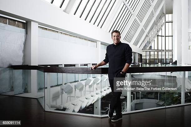 CEO of Lululemon Athletica Laurent Potdevin is photographed for Forbes Magazine on September 27 2016 in Vancouver Canada CREDIT MUST READ Jens...