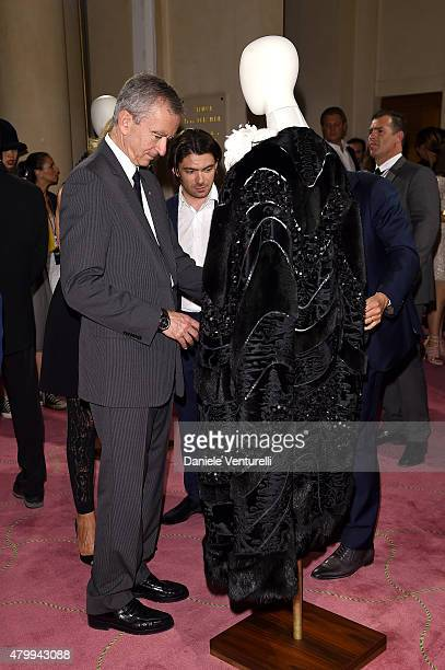 Of LVMH Bernard Arnault attends the Fendi show as part of Paris Fashion Week Haute Couture Fall/Winter 2015/2016 on July 8, 2015 in Paris, France.