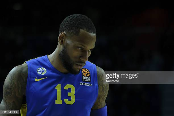 WEEMS SONNY of Maccabi Fox Tel Aviv in action during the 2016/2017 Turkish Airlines EuroLeague Regular Season Round 17 game between Real Madrid v...