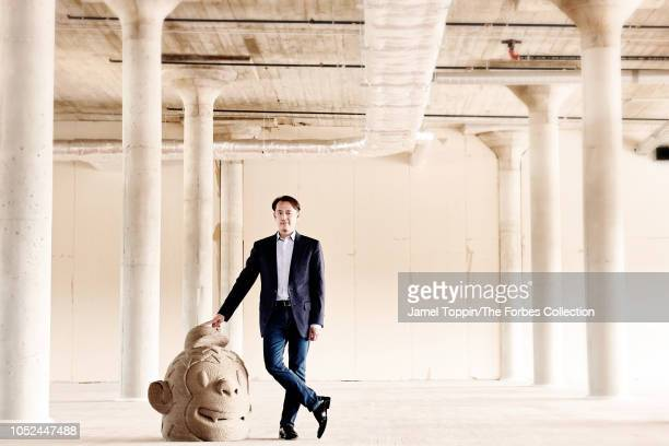 CEO of MailChimp Ben Chestnut is photographed for Forbes Magazine on August 14 2018 at company's headquarters in Atlanta Georgia PUBLISHED IMAGE...