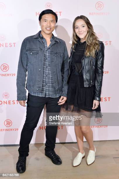 EVP of Marketing for Refinery29 Patrick Yee and Jessica Hendricks Yee attend Refinery29's HER BRAIN Insights Series Presentation at The Honest...