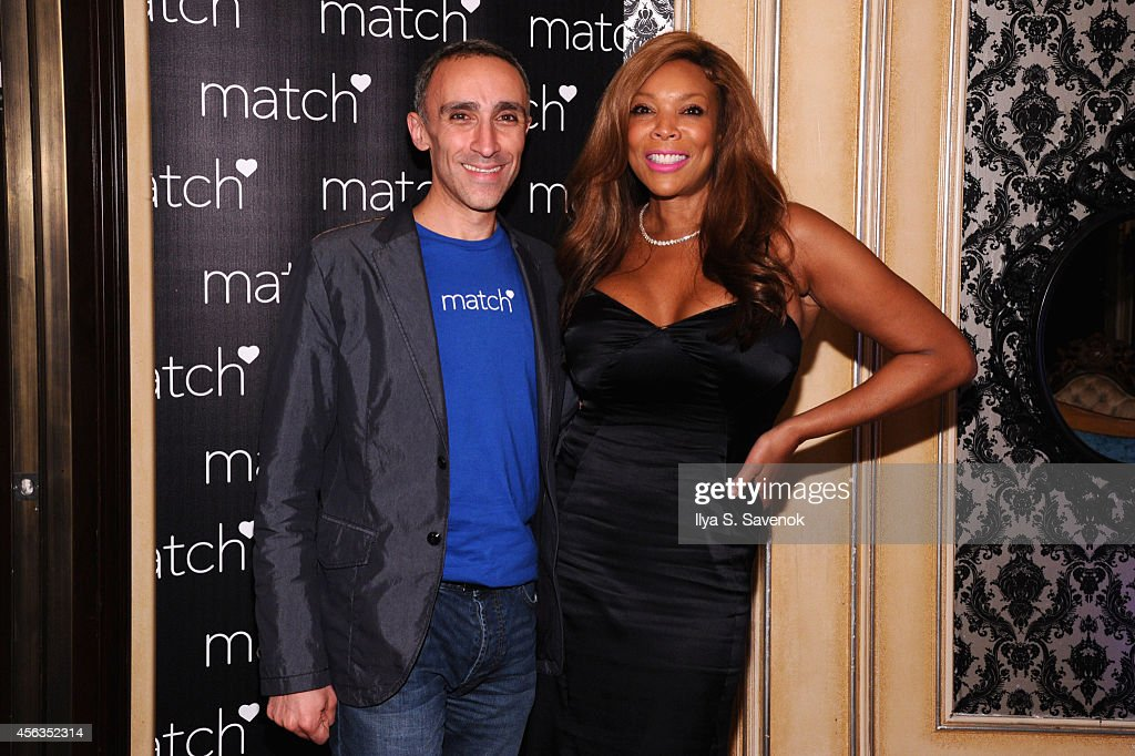 CEO of Match Inc. Sam Yagan and Wendy Williams attend The Match Bachelor Showcase benefiting The American Heart Association hosted by Wendy Williams on September 29, 2014 in New York City.
