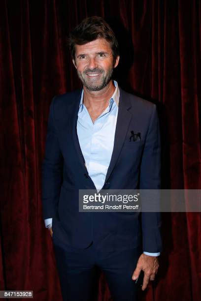 CEO of Mazarine Group PaulEmmanuel Reiffers attends the Reopening of the Hotel Barriere Le Fouquet's Paris decorated by Jacques Garcia at Hotel...