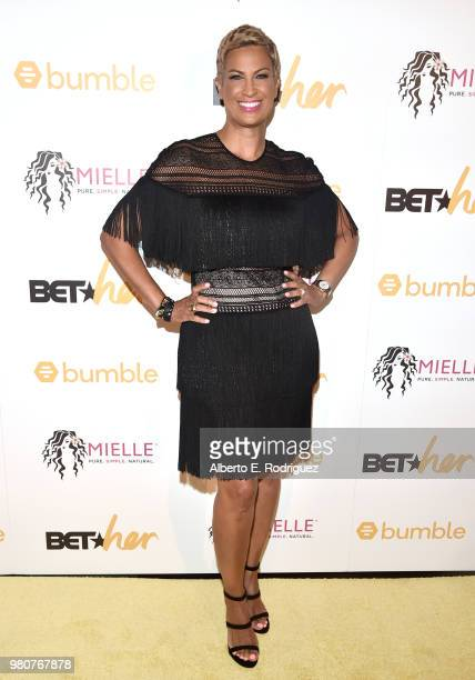 Michele Thornton attends the BETHer Awards presented by Bumble at The Conga Room at LA Live on June 21 2018 in Los Angeles California