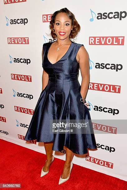 SVP of Membership Nicole George Middleton attends the 2016 ASCAP Rhythm Soul Awards at the Beverly Wilshire Four Seasons Hotel on June 23 2016 in...