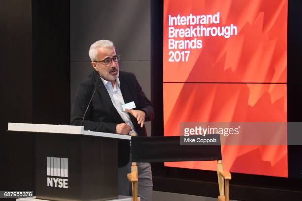 CEO of memBrain Ken Hertz appears onstage during Interbrand Breakthrough Brands 2017 on May 24 2017 in New York City