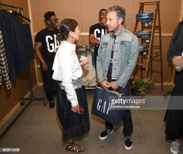 VP of Men's Design John Caruso attends GQ x GAP Coolest Designers on the Planet 2017 at St Ann's Warehouse on September 25 2017 in New York City