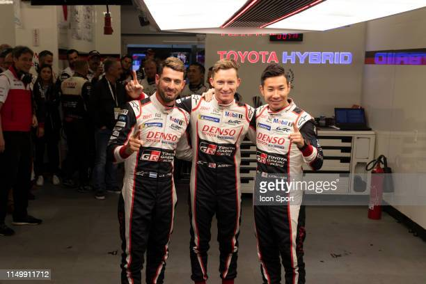 Of Mike CONWAY , Kamui KOBAYASHI , Jose Maria LOPEZ during the 24h du Mans on June 13, 2019 in Le Mans, France.