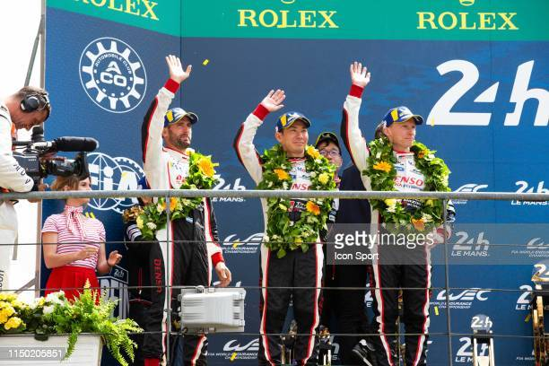 Of Mike CONWAY , Kamui KOBAYASHI , Jose Maria LOPEZ during the 24h du Mans on June 16, 2019 in Le Mans, France.