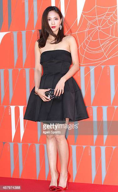 FEI of Miss A poses for photographs during the W Korea campaign Love Your W party at Fradia on October 23 2014 in Seoul South Korea