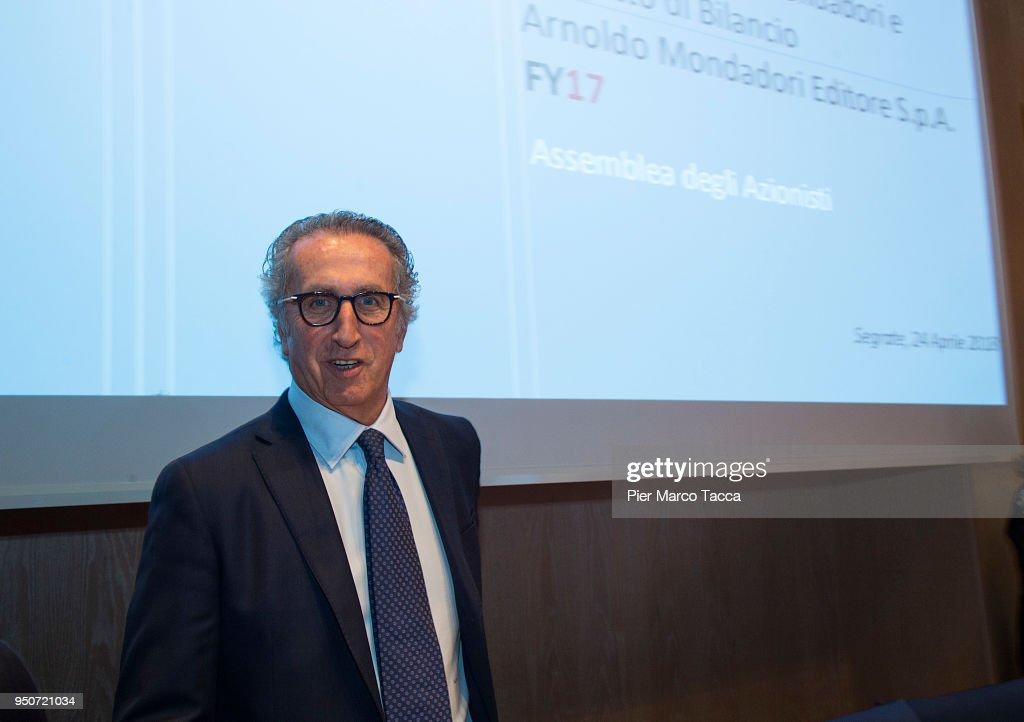 Mondadori Shareholders' Meeting 2018