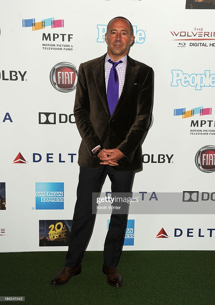 CEO of MPTF Bob Beitcher attends 'Hugh Jackman... One Night Only' Benefiting MPTF at Dolby Theatre on October 12, 2013 in Hollywood, California.